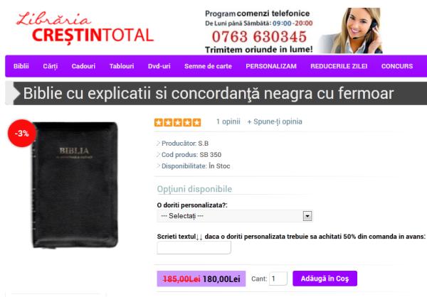 BIBLIE CU EXP SI CON