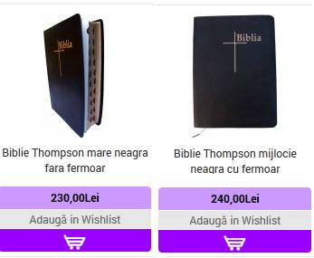 7. BIBLII THOMPSON