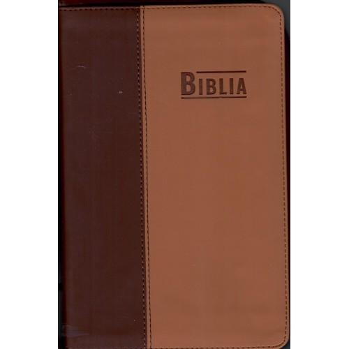 Biblia NTR maro cu capsa